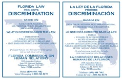 FL Prohibits Discrimination