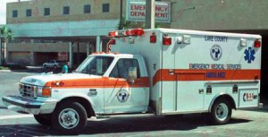 Lake County EMS Ambulance