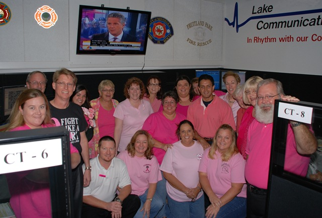 Lake EMS - Breast Cancer Awareness Month