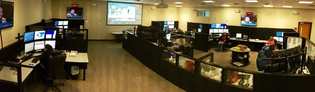 Lake EMS Communications Center in Tavares, Florida