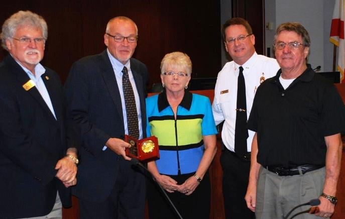 Ms. Marilyn Sonn, Lake EMS Finance Manager, was recognized for 14 years of service and honored on the occasion of her retirement.