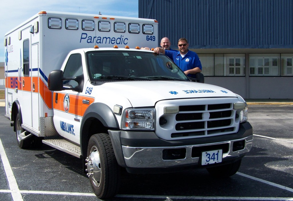 Medic 341 is now stationed in Minneola, Florida.