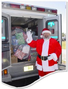 Santa and Ambulance
